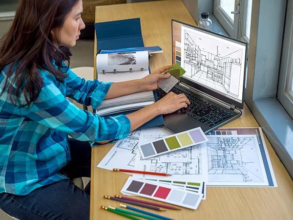 Učenje preko interneta dizajn enterijera